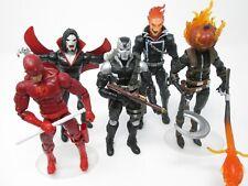 Marvel Legends Lot Daredevil Morbius Ghost Rider Scourge Jack O'Lantern