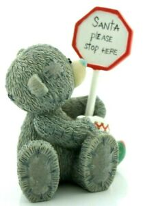 Me To You Tatty Teddy Bear Collectors Figurine - Don't Forget # 40307 rare