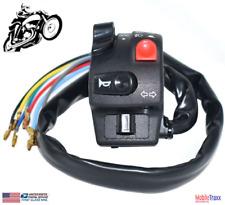 "7/8"" Motorcycle Handlebar Switch Assembly Headlight Fog Light Push Button Switch"