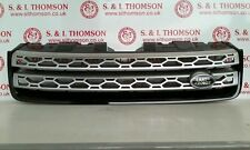 LAND ROVER DISCOVERY SPORT GRILL FK72 8A100 CAW BLACK & SILVER L550 2014 - 2017