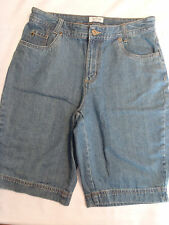 Christopher & Banks Size 8 or 4 Denim Blue Shorts NWT Defect