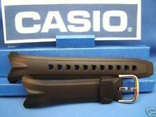 Casio Watch Band EDB-500 EDB-501 Black Resin Strap. Original Two-Piece Watchband