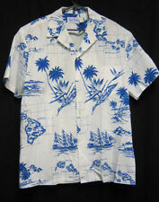 XL Kai Nani Shirt Palm trees bird of paradise Hawaiian islands