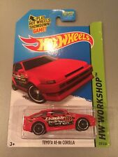 HOT WHEELS Toyota AE-86 Corolla HW Workshop (T01)