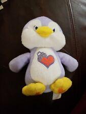 "Care Bear Cousins 7"" Plush Cozy Heart Penguin 2004 Care Bear"