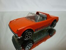 POLITOYS E17 VOLKSWAGEN VW PORSCHE 914 - ORANGE 1:43 - GOOD CONDITION