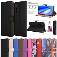 For Realme 7 5G Case, Magnetic Flip Leather Book Wallet Shockproof Phone Cover