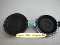 "2pcs 2""inch 52mm Bass radiator Passive speaker Vibration plate woofer radiator"
