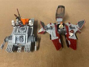 2X Star Wars Lego Sets 75152 Imperial Assault Hovertank 75135 Jedi Inteceptor