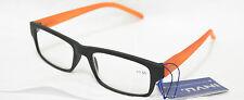 Occhiali da Lettura INVU B6507E +2.00 NERO ARANCIO READING GLASSES BLACK ORANGE
