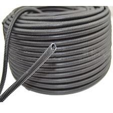 "50' Feet 1/4"" Split Loom Wire Flexible Tubing Conduit Polyethylene Hose"