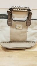 Guess ladies handbag tan and beige BRAND NEW gift christmas present girl