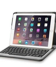 new I pad air 2 key board case smart case with Anker Bluetooth Folio Auto sleep
