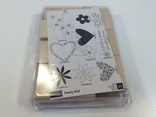 """Stampin' Up Rubber Stamp Set """"Simply Said"""" Never Used"""