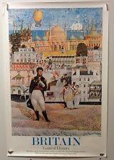 Original vintage travel Poster For Britain