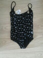 Bnwt Taille 6-8 body Mickey Mouse Design De Paillettes