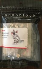Nanoblock American Shorthair Cat Micro-Sized Building Toy Nbc-032 New and Sealed