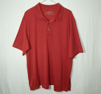 Eddie Bauer Short Sleeve Polo Golf Shirt Size EXTRA LARGE XL Mens Clothing
