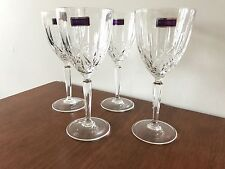 MARQUIS by WATERFORD crystal wine glasses set of 4