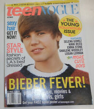 Teen Vogue Magazine Justin Beiber & Selena Gomez October 2010 082114R