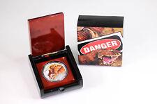 2015 RAM $1 Silver 1oz Australian Death Adder Proof Coin - Box & COA