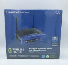 Linksys By Cisco Wireless-G Brodband Router With Speedbooster Model WRT54GS