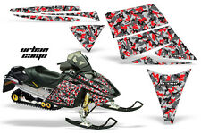 AMR RACING SKI-DOO REV SNOWMOBILE SLED WRAP GRAPHICS DECAL KIT 03-09 URBAN CAMO
