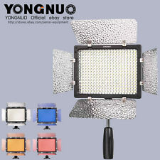 Yongnuo YN-300 ll Pro LED Video Light Camera Camcorder for Canon Nikon Pentax