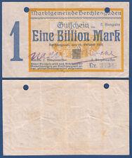 BERCHTESGADEN  1 Billion Mark  26.10.1923   Erh. III / VF