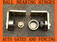 Heavy Duty STEEL Ball Bearing Swing Gate Hinges up to 400 kg 50x50
