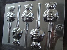 Honey Bear Lollipop Chocolate Mould CK Products 11733 Free 1st class post