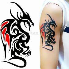 Painted Dragon Waterproof Temporary Removable Tattoo Body Arm Leg Art Sticker