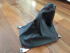 GENUINE JDM HONDA CIVIC TYPE-R EK SHIFT BOOT BLACK WITH RED STITCHING