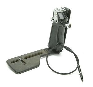 Folding/Compact Camera Bracket Super Deluxe T.S. W/Tilting Shoe F/Medium Format.