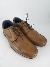 Mens Stressless Ash Brown Leather Shoes UK 12 EU 46 LN33 20