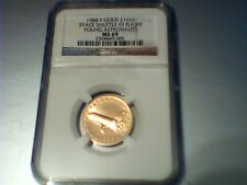 1988 P Gold Young Astronaut Program Medal 21 mm W/NGC MS69