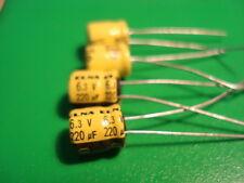 Capacitor 220uF 6.3V 85c Audio Electrolytic Capacitor [4]