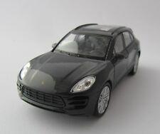Welly Porsche Macan Turbo / Anthrazit / Rückzugmotor / Druckgussmodel /1:39/OVP