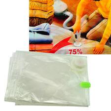 best 6 PACK SMALL Space Saver Bags Storage Bag Vacuum compressed Seal Organizer
