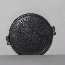 Used 49mm Lens Front Cap Snap on Type Plastic Black