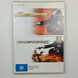 The Transporter / The Transporter 2 Two -2 Disc Set DVD - FREE TRACKED POST