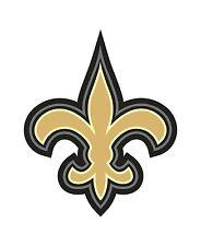 New Orleans Fleur de lis Sticker Louisiana for Helmet Laptop Tool Box Locker
