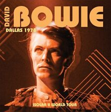 DAVID BOWIE - Dallas 1978. New CD + Sealed. **NEW**