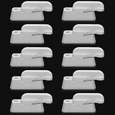 Pack of 10 Pcs Sash Jammers UPVC Windows Locks Door Swing Added Security Lock