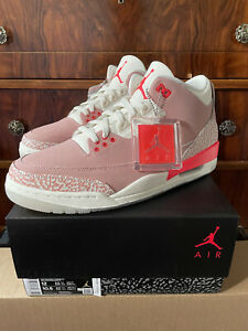 Jordan 3 Retro Rust Pink Women's size 12W/10.5M - Brand New