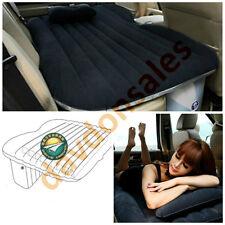 Air Mattress Inflatable Travel Car Truck SUV Camping Portable Pump 12V Sleep Pad
