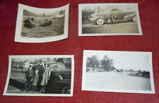 6 Vintage Photos - People and Automobiles