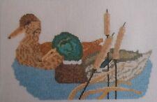 "Ducks - Mallards Cross Stitch Kitby Abacus Designs 8 x 5"""