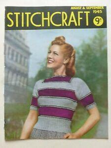 STITCHCRAFT August – September 1945 - Needlework Magazine