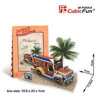 CubicFun Mini 3D Puzzle World Style - Philippine Jeepney W3147h OK